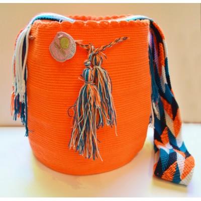 Mochila Un solo Color Wayuu