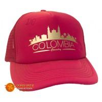 Gorra Colombia Fucsia Malla