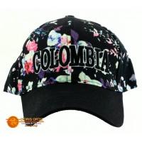 Gorra Negra Nat. Flores