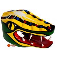 Mascara Cocodrilo Carnaval de Barranquilla