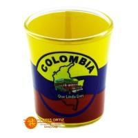 Copa mini Colombia bandera