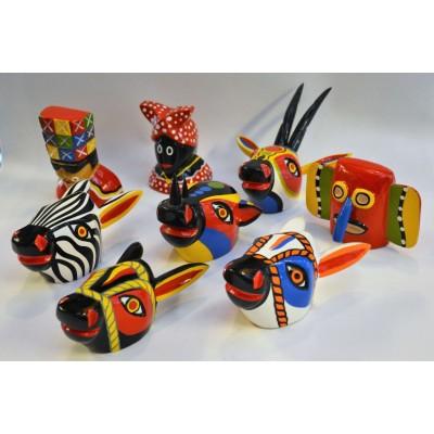 Mascaras Cebra Carnaval de Barranquilla