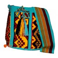 Mochila wayuu un hilo Diseño