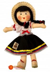 Muñecas de trapo Campesina