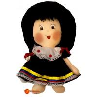 Muñeca de Trapo  Campesina Redonda