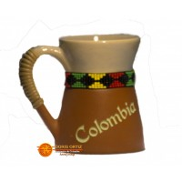 Mugs Bajo Relieve Colombia Vasija